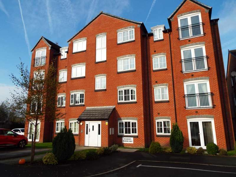 2 Bedrooms Apartment Flat for sale in Baldwins Close, Royton