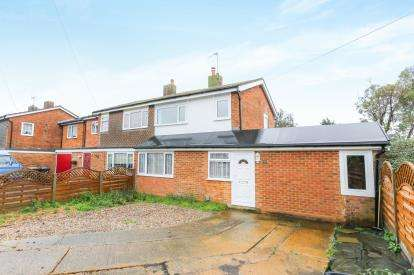 3 Bedrooms Semi Detached House for sale in Hitchin Lane, Clifton, Shefford, Bedfordshire