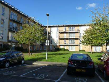 2 Bedrooms Flat for sale in Tristan Court, King George Crescent, Wembley
