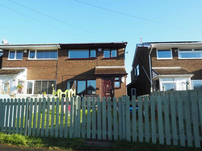 3 Bedrooms Semi Detached House for sale in Frith View, Chapel-en-le-Frith, High Peak, Derbyshire, SK23 9TL
