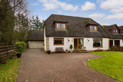 4 Bedrooms Detached House for sale in Allandale Crescent, Greenloaning