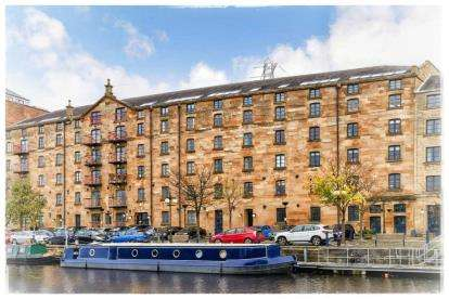 1 Bedroom Flat for sale in Speirs Wharf, Glasgow