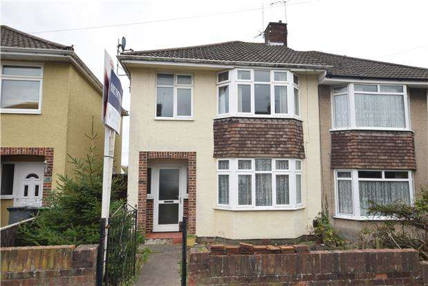 3 Bedrooms Semi Detached House for sale in The Ride, BRISTOL, BS15 4SY