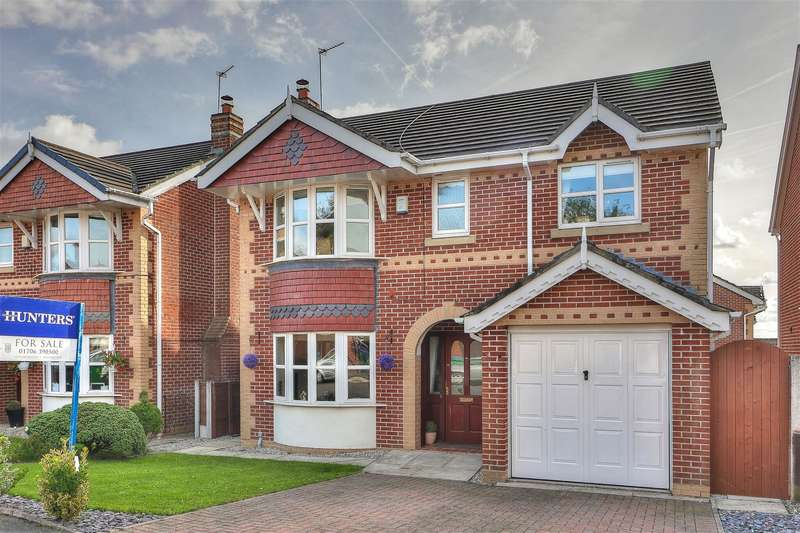 4 Bedrooms Detached House for sale in Stott Street, Hurstead, Rochdale, OL16 2SB