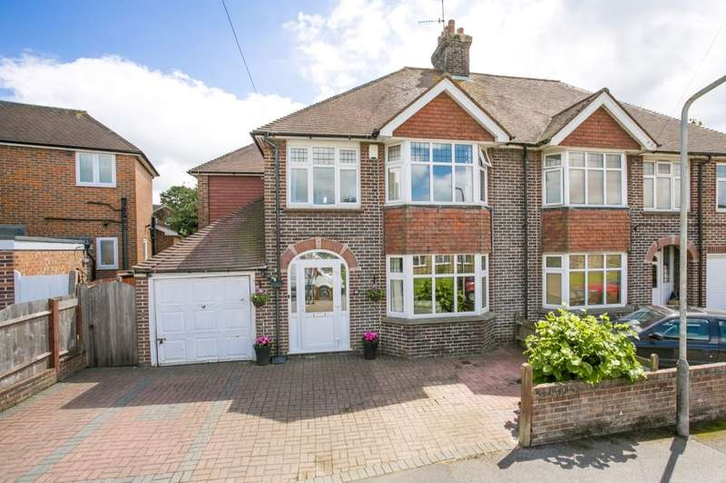 4 Bedrooms Semi Detached House for sale in Pinewood Gardens, Tunbridge Wells, TN4