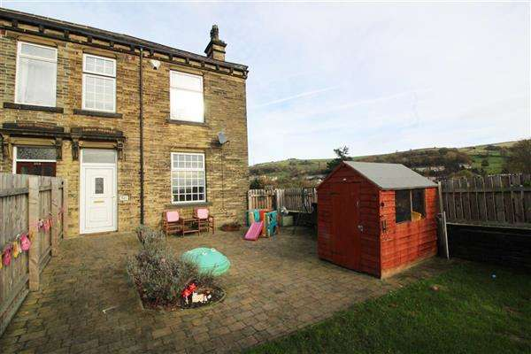 3 Bedrooms End Of Terrace House for sale in Huddersfield Road, Skircoat Green, Halifax