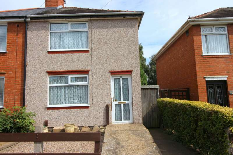 2 Bedrooms Semi Detached House for sale in Miles Meadow, Bell Green, Coventry, CV6