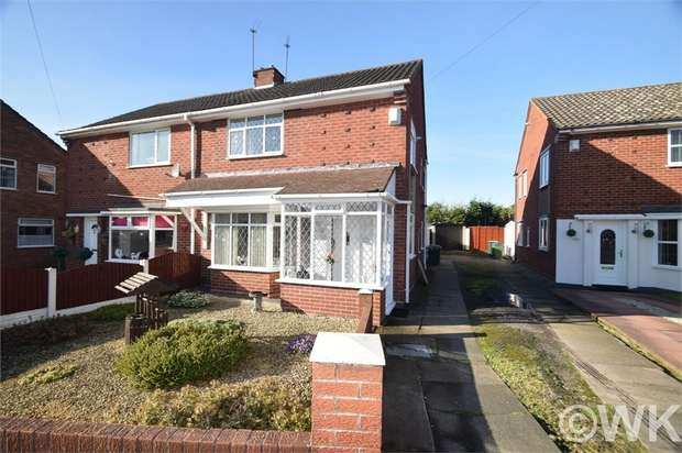 3 Bedrooms Semi Detached House for sale in Coronation Road, WEDNESBURY, West Midlands