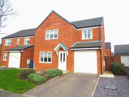 4 Bedrooms Detached House for sale in Grindleford Place, Warrington, Cheshire