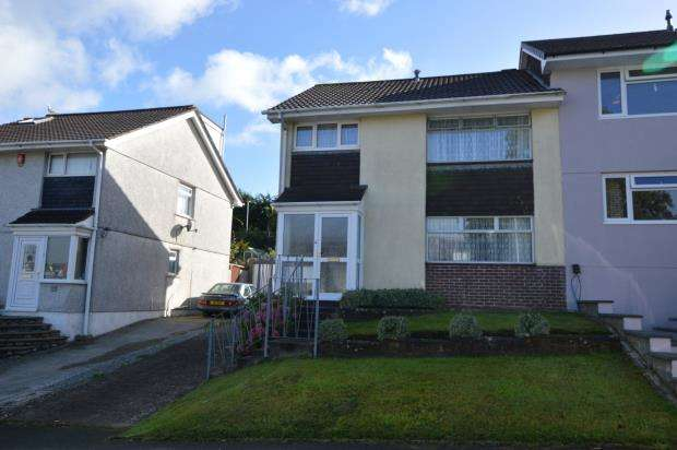 4 Bedrooms Semi Detached House for sale in Holcombe Drive, Plymouth, Devon