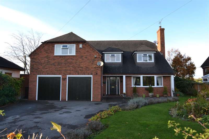 4 Bedrooms Detached House for sale in Castle View, Long Lane, Stafford