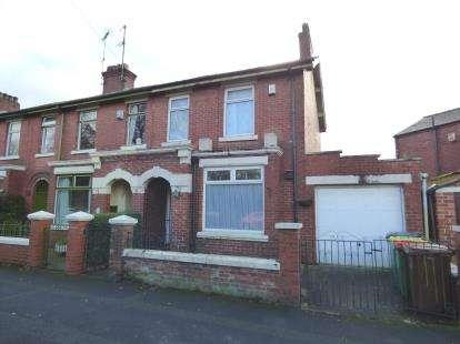 3 Bedrooms End Of Terrace House for sale in South Meadow Lane, Broadgate, Preston, Lancashire, PR1