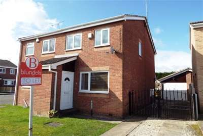2 Bedrooms Semi Detached House for rent in Bramshill Close, Sothall, Sheffield, S20