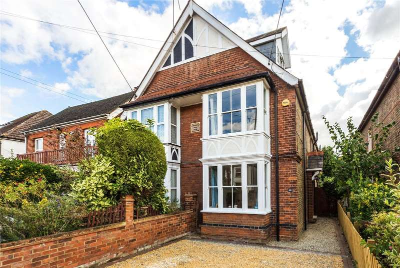 4 Bedrooms Semi Detached House for sale in Furlong Road, Bourne End, Buckinghamshire, SL8