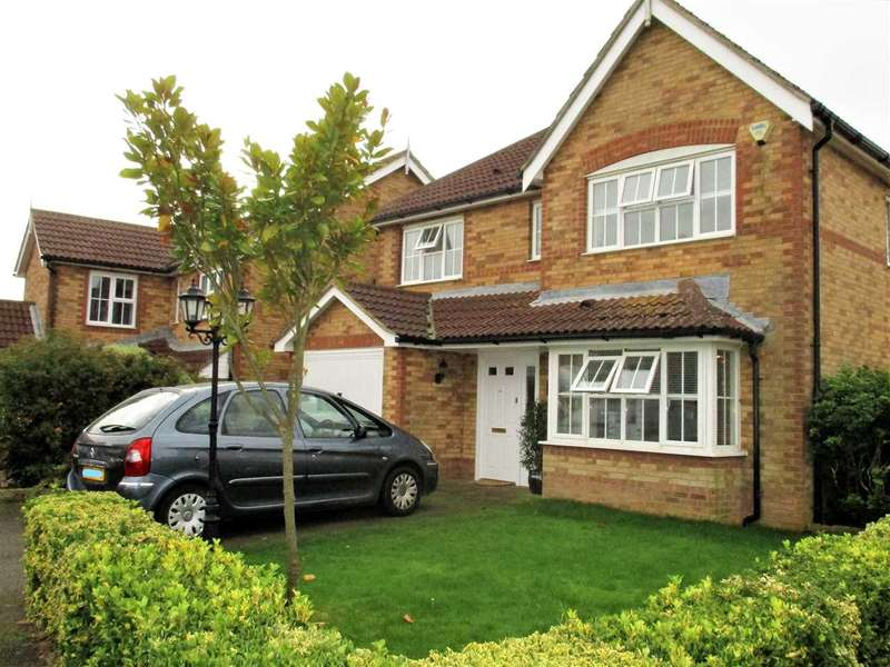 4 Bedrooms Detached House for sale in Pannell Drive, Hawkinge