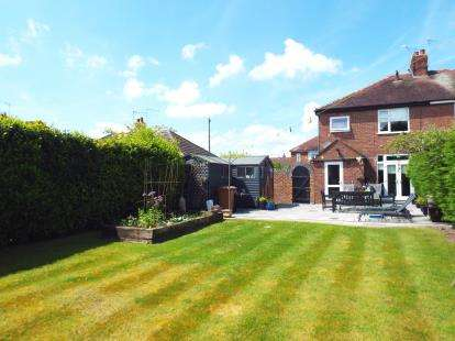 3 Bedrooms Semi Detached House for sale in Wistaston Avenue, Wistaston, Crewe, Cheshire