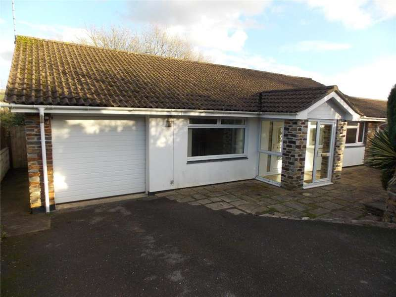 3 Bedrooms Detached Bungalow for sale in Churchtown Meadows, St Stephen, Cornwall