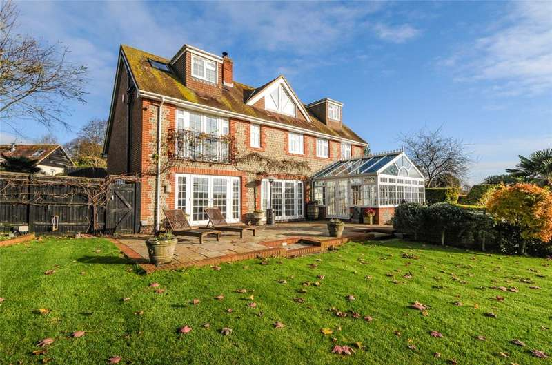 5 Bedrooms Detached House for sale in The Street, Bury, Pulborough, West Sussex, RH20
