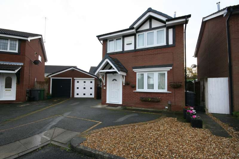 3 Bedrooms Detached House for sale in Crowmarsh Close, Wirral, CH49 6PS