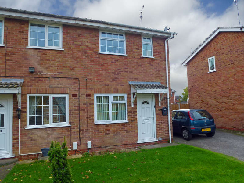 2 Bedrooms Semi Detached House for sale in Ibsley Close, Alvaston