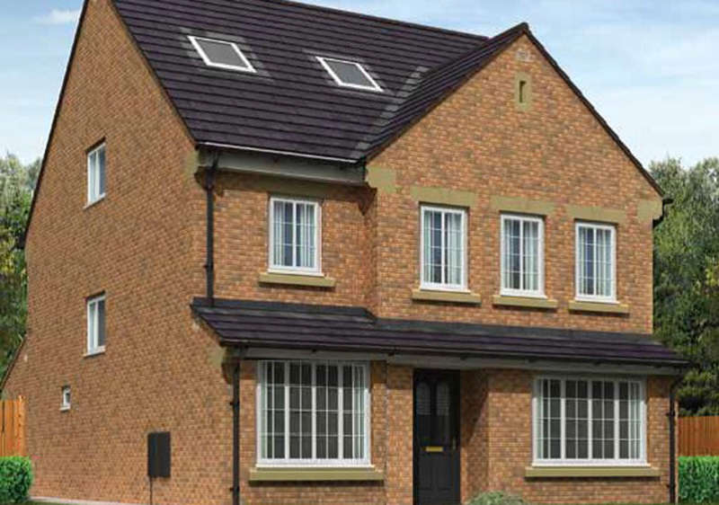 4 Bedrooms Detached House for sale in The Whiteside Plot 45, Parkview, Barrow-in-Furness