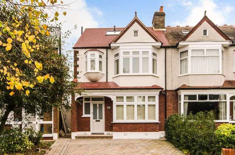 5 Bedrooms House for sale in Sandbourne Avenue, Merton Park, SW19