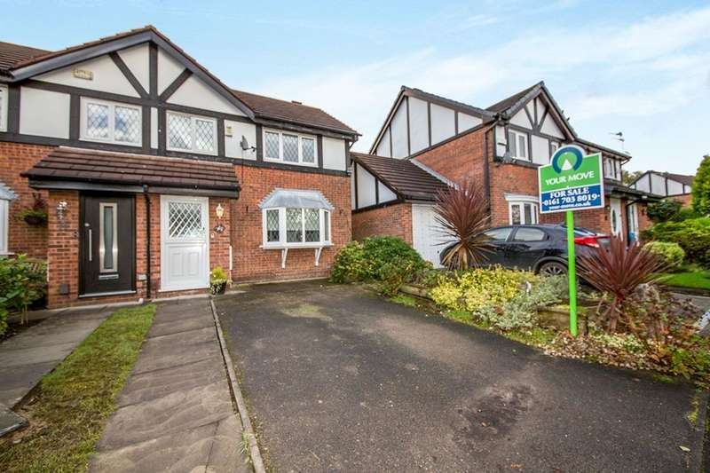 2 Bedrooms Semi Detached House for sale in The Reach, Worsley, Manchester, M28