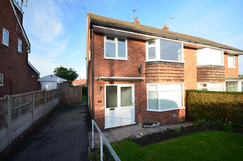 3 Bedrooms Semi Detached House for rent in Beverley Crescent, Forsbrook, Stoke-on-Trent, ST11 9DQ
