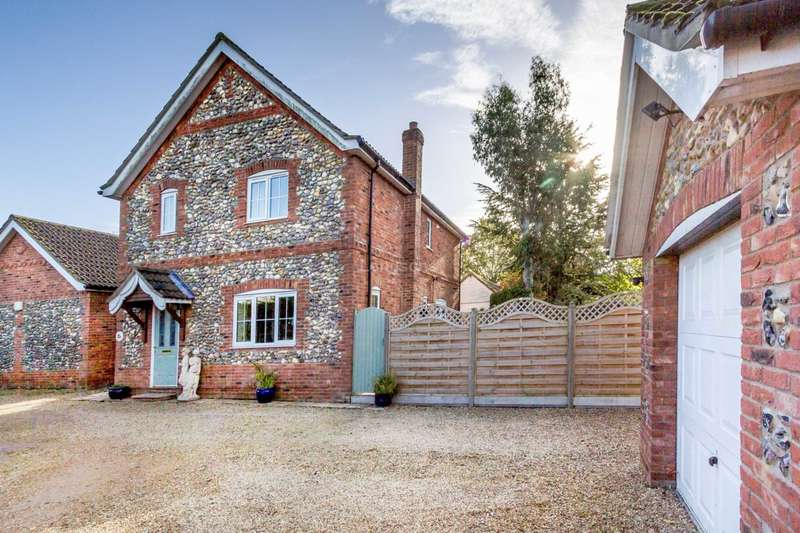 3 Bedrooms Detached House for sale in Blackhorse Close, Watton