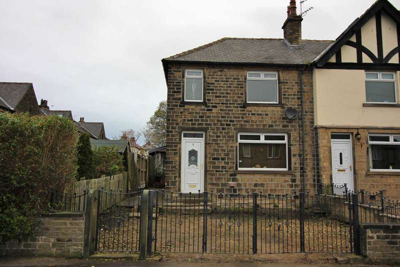 3 Bedrooms End Of Terrace House for sale in Hawes Avenue, Quarmby