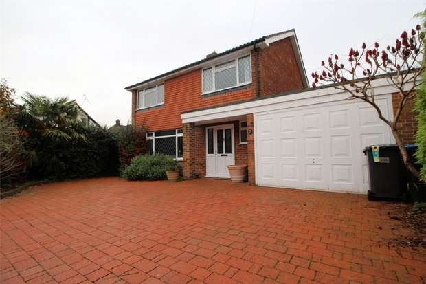 4 Bedrooms Detached House for rent in Woodham, ADDLESTONE, Surrey