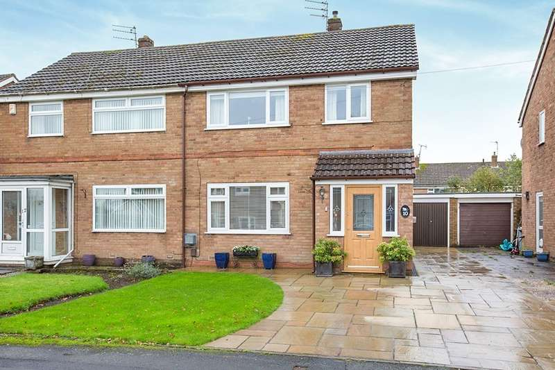 3 Bedrooms Semi Detached House for sale in Keswick Close, Macclesfield, SK11