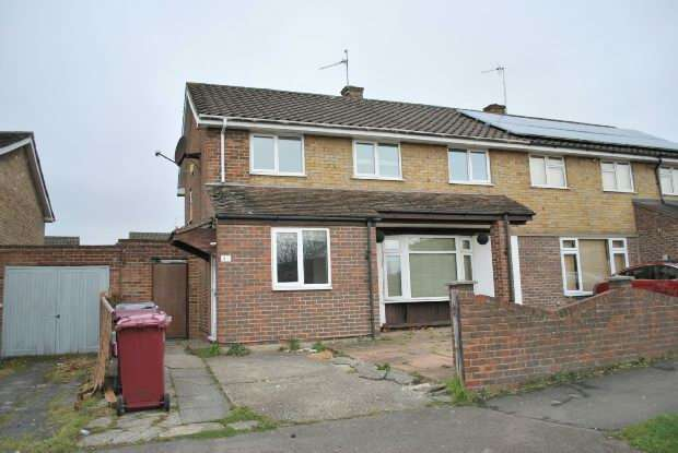 4 Bedrooms Semi Detached House for sale in Appleford Road, Southcote, Reading,