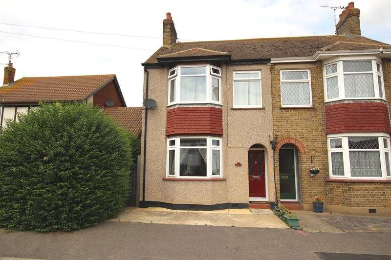 3 Bedrooms Semi Detached House for sale in Huge Garden Backing Farmland - Seaview Drive, Great Wakering