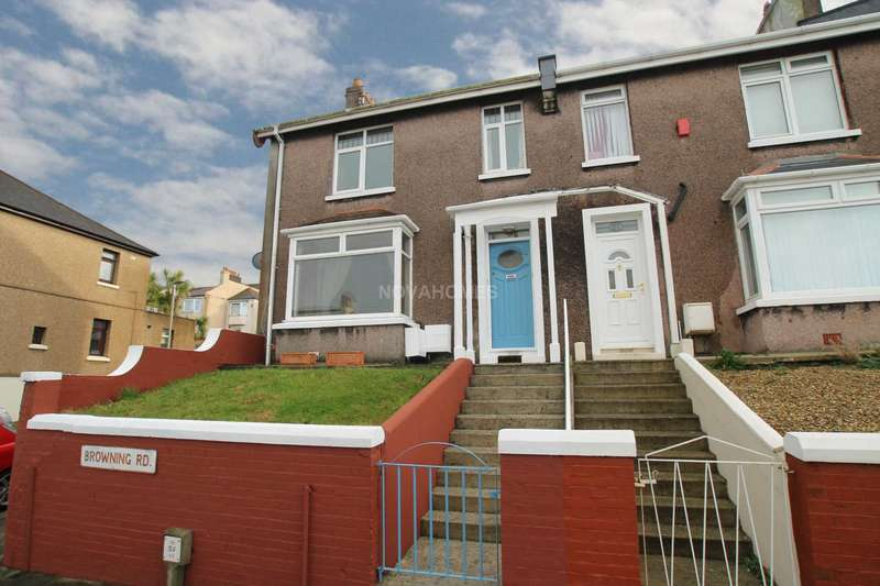 1 Bedroom Flat for sale in Browning Road, Milehouse, PL2 3AN