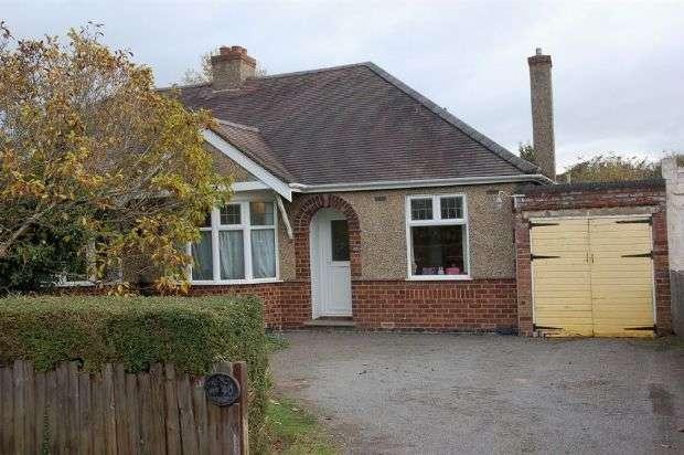 2 Bedrooms Semi Detached Bungalow for sale in Northampton Lane South, Moulton, Northampton NN3 7RL