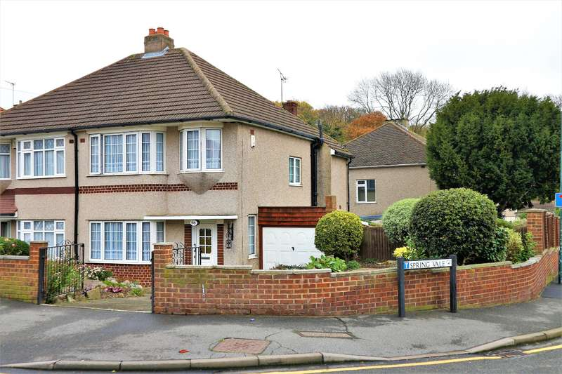 3 Bedrooms Semi Detached House for sale in Pinnacle Hill, Bexleyheath, Kent, DA7 6AG