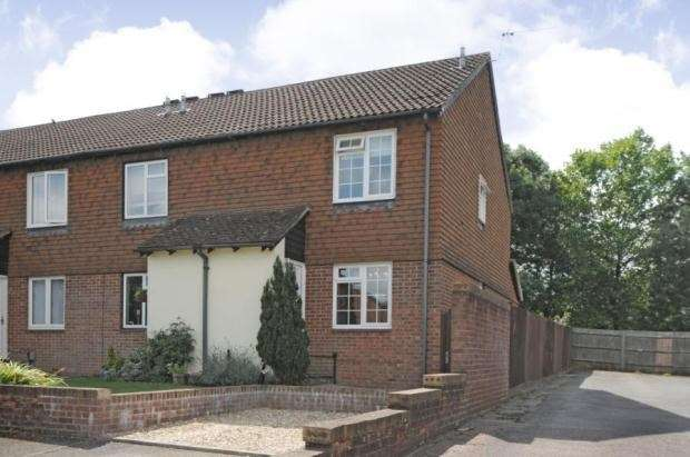 2 Bedrooms End Of Terrace House for sale in Beecham Berry, Loddon Vale, Basingstoke, RG22