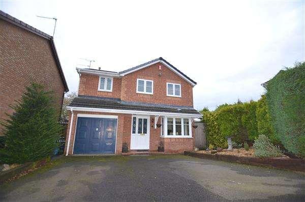 4 Bedrooms Detached House for sale in Barbridge Road, Waterhayes, Newcastle