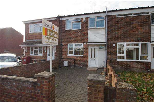 3 Bedrooms Terraced House for sale in Spackmans Way, Chalvey, Slough