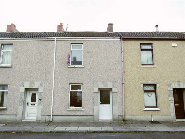 2 Bedrooms Terraced House for sale in Caroline Street, Llanelli, Carmarthenshire