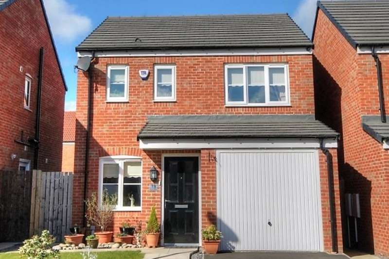 3 Bedrooms Detached House for sale in Wheatfield Road, Westerhope, Newcastle Upon Tyne, NE5