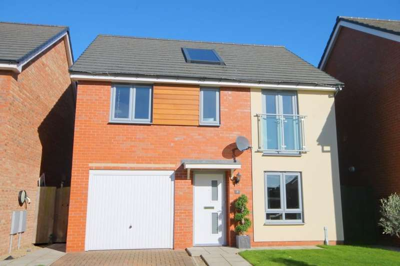 4 Bedrooms Detached House for sale in Winshields Way, Throckley, Newcastle Upon Tyne, NE15