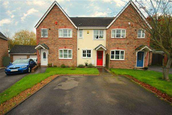 2 Bedrooms Town House for sale in Hampshire Crescent, Lightwood, Stoke-on-Trent