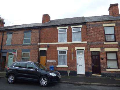 3 Bedrooms Terraced House for sale in Southwood Street, Alvaston, Derby, Derbyshire