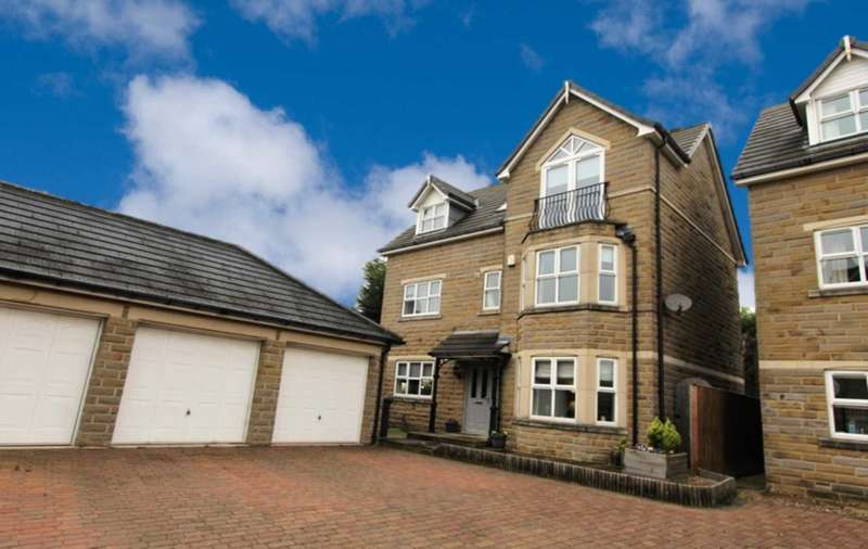 5 Bedrooms Detached House for sale in Bradford Road, Birkenshaw.