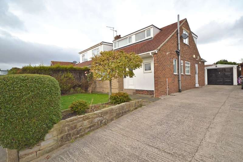 3 Bedrooms Semi Detached House for sale in Redhill Drive, Tingley, Wakefield