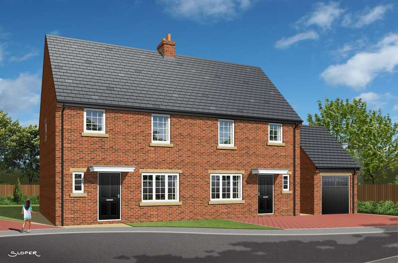 3 Bedrooms Semi Detached House for sale in 'The Fredrick', Plot 7, Park View, Brierley, Barnsley