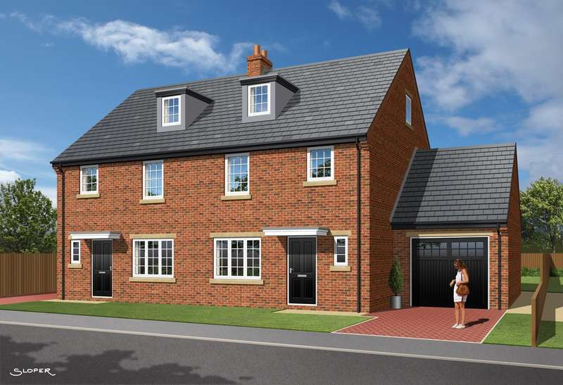 4 Bedrooms Semi Detached House for sale in 'The Olive', Plot 13, Park View, Brierley, Barnsley