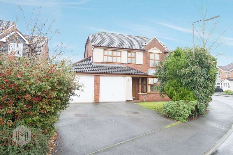 4 Bedrooms Detached House for sale in Salterton Drive, Bolton, BL3